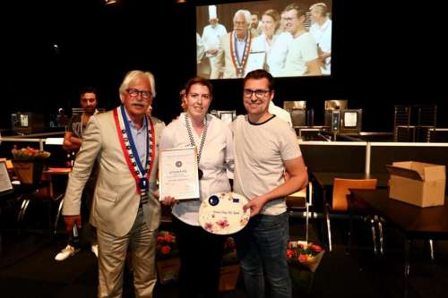Manouk Wols (Restaurant Dell'arte) wint Young Chef Award 2018!
